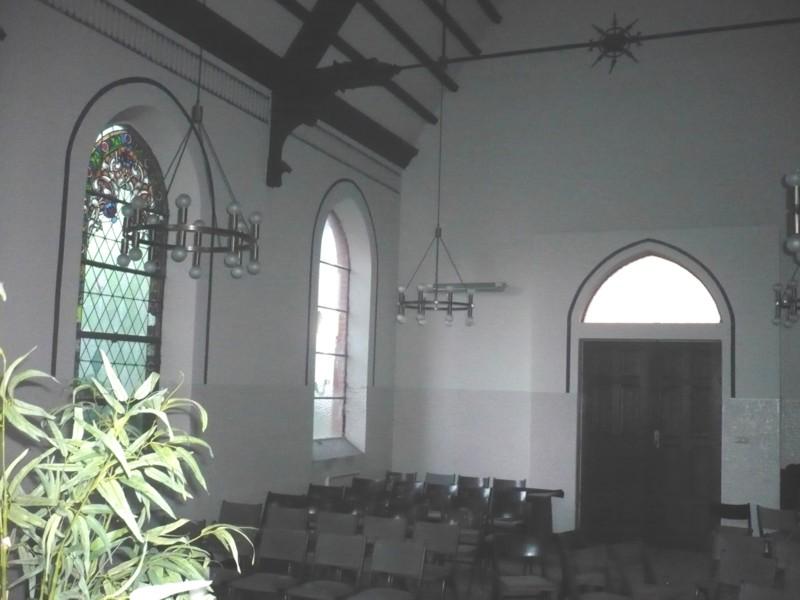 Innenansicht Trauerhalle, Dez. 2008