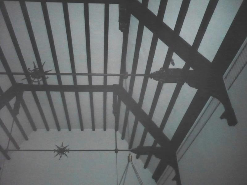 Deckengewölbe Trauerhalle, Dez. 2008