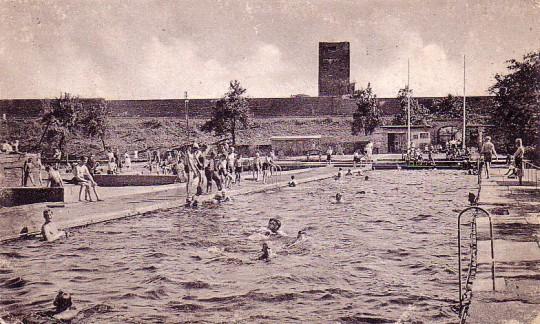 Freibad Aplerbeck, um 1936