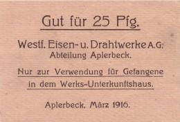 Kriegsgefangenengeld 1916, Vorderseite