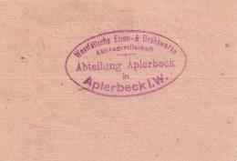 Kriegsgefangenengeld, Rückseite, 1916