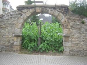 Tor zum Hauptgarten des Hauses Rodenberg, Aplerbeck (Foto Klaus Winter, Dortmund, 2006)