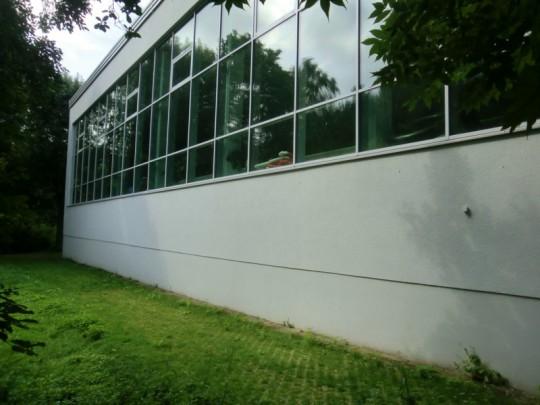 Hallenbad, Ostfassade, 2014