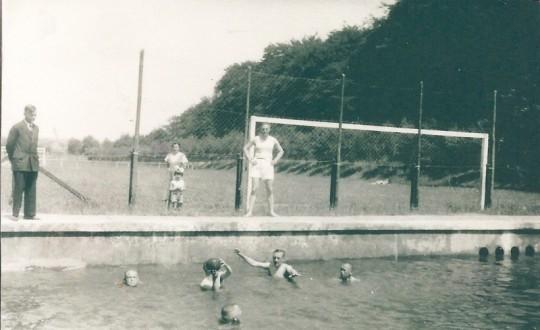 Planschbecken, um 1930 (2)