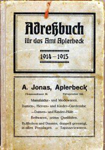 Adreßbuch für das Amt Aplerbeck 1914-1915